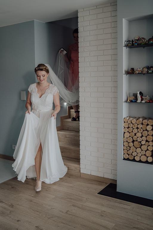 Paulina i Emil - Reportaż ślubny - Restauracja Leliwa Końskie 29